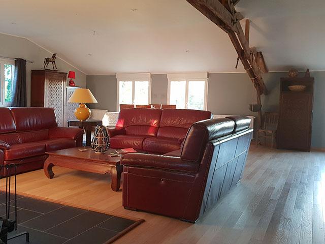 Gîte Chambre d'hôtes du Bois du Lattay Slider-1-salon